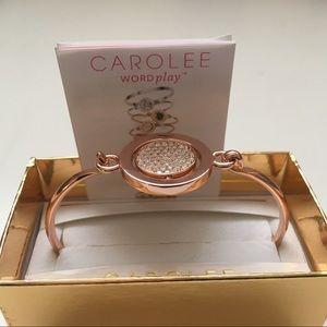 Carolee Metallic Bling Around The Roses